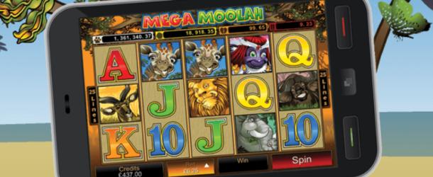 Mega Moolah Mobile Slots